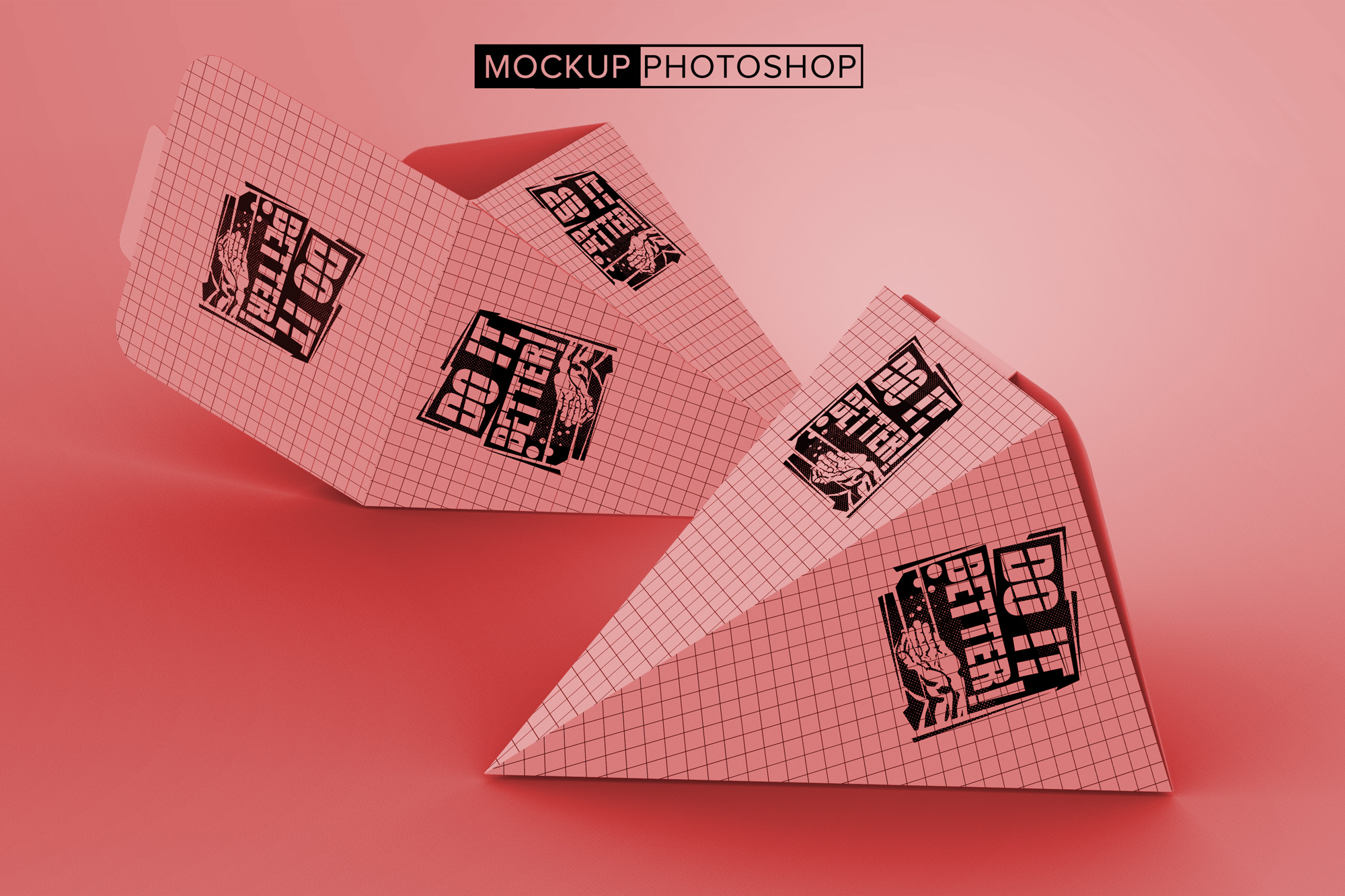 Triangle-Cone-Package-Mockups