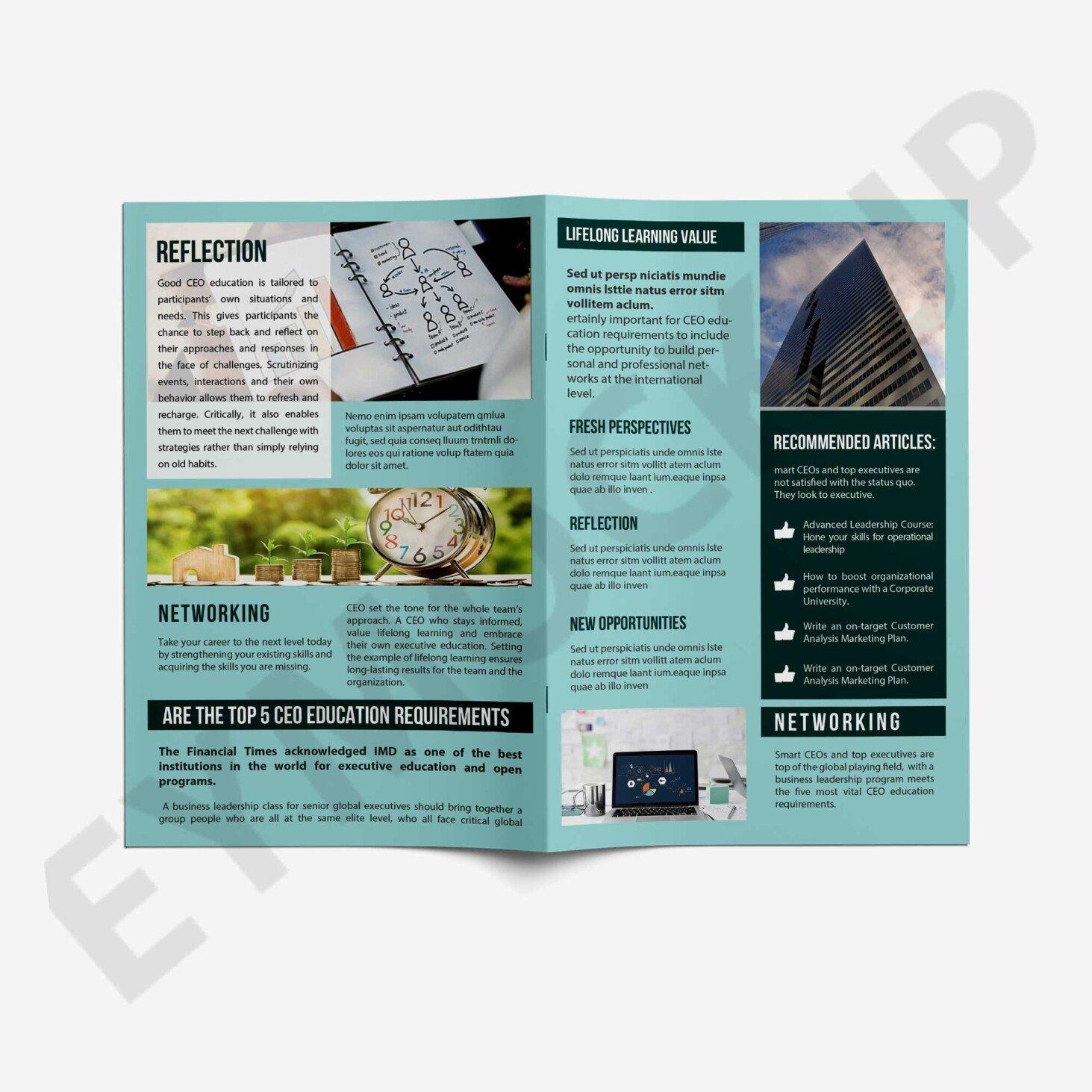 Business Bi-Fold PSD
